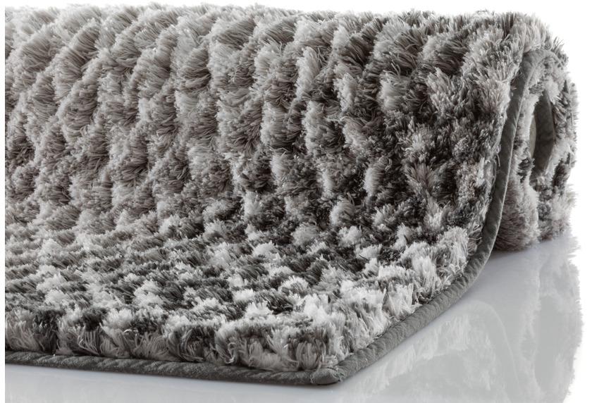 Kleine Wolke Badteppich Cory Anthrazit