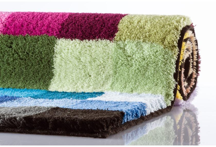 Kleine Wolke Badteppich Cubetto Multicolor