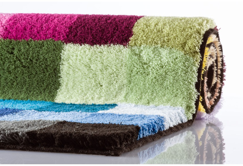 kleine wolke badteppich cubetto multicolor ebay. Black Bedroom Furniture Sets. Home Design Ideas