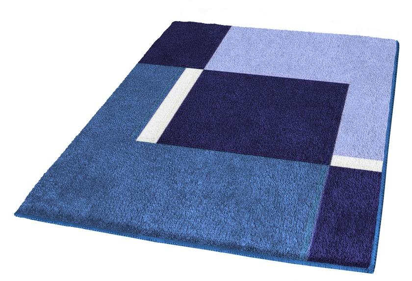 Kleine Wolke Badteppich Dakota Marineblau
