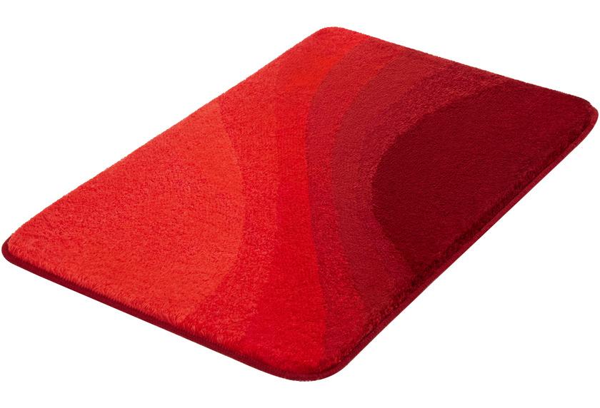 Kleine Wolke Badteppich Malin Granat