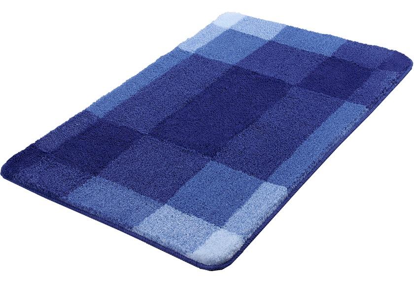 Kleine Wolke Badteppich Mix, Marineblau