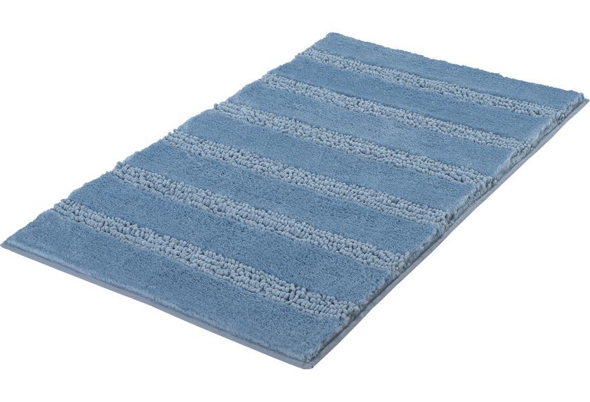 Kleine Wolke Badteppich Monrovia Stahlblau