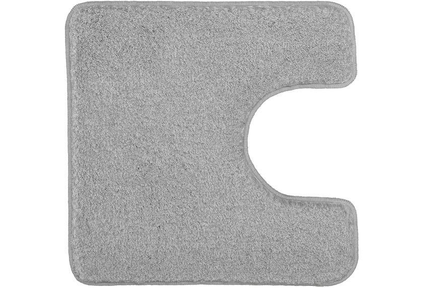 Kleine Wolke Badteppich Relax Grau Rutschhemmender Rücken