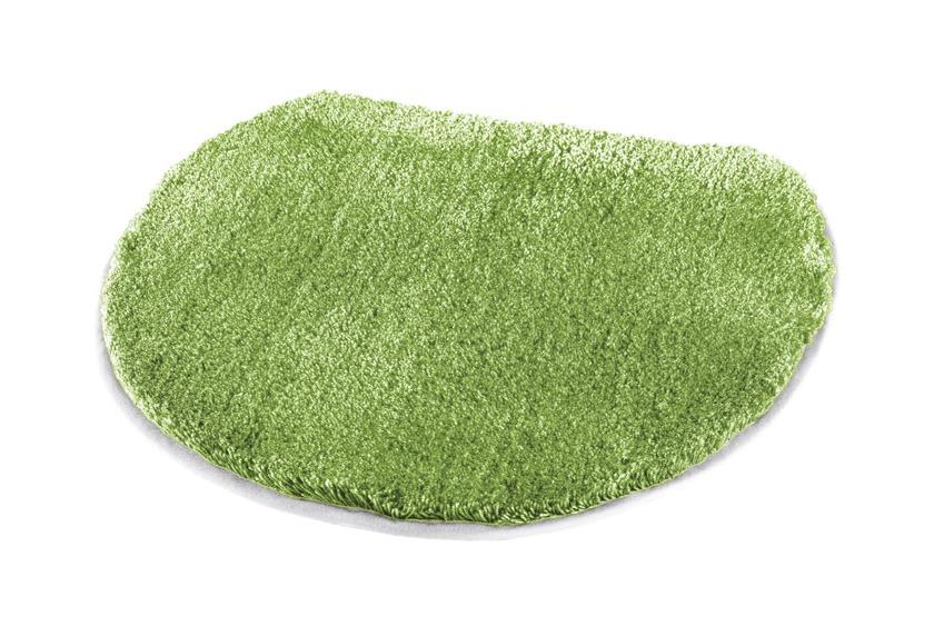 Kleine Wolke Badteppich Soft, Kiwigrün 47 x 50 cm Deckelbezug
