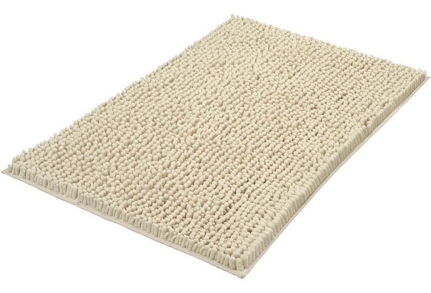 Kleine Wolke Badteppich Stella Sandbeige