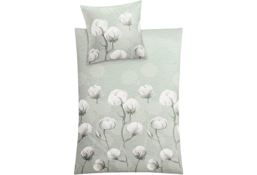 Kleine Wolke Bettwäsche Cotton schilf
