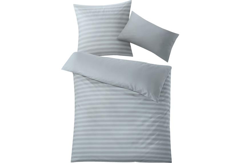 kleine wolke bettw sche daphnis silbergrau wohnaccessoires bei tepgo kaufen versandkostenfrei. Black Bedroom Furniture Sets. Home Design Ideas