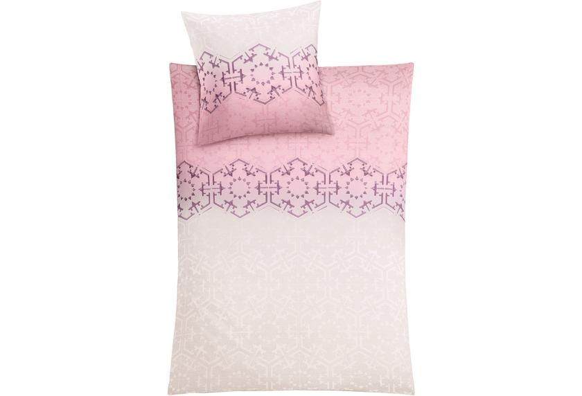 kleine wolke bettw sche flakes pastellrose wohnaccessoires bei tepgo kaufen versandkostenfrei. Black Bedroom Furniture Sets. Home Design Ideas