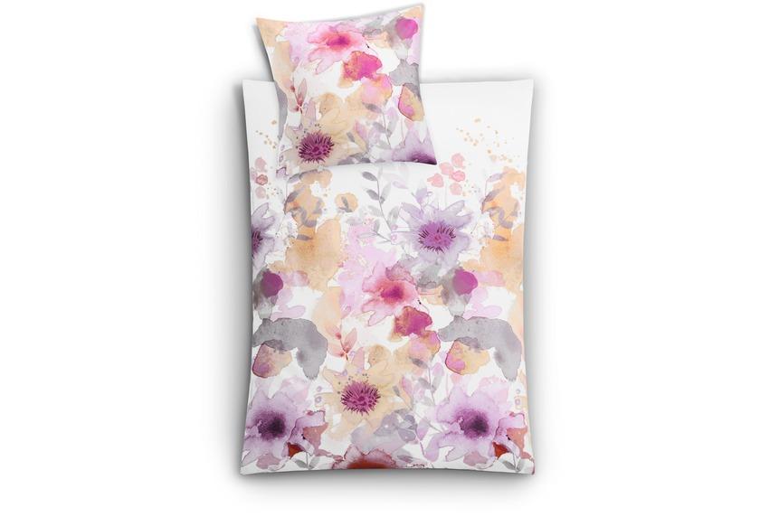 kleine wolke bettw sche flores cassis wohnaccessoires bei tepgo kaufen versandkostenfrei. Black Bedroom Furniture Sets. Home Design Ideas
