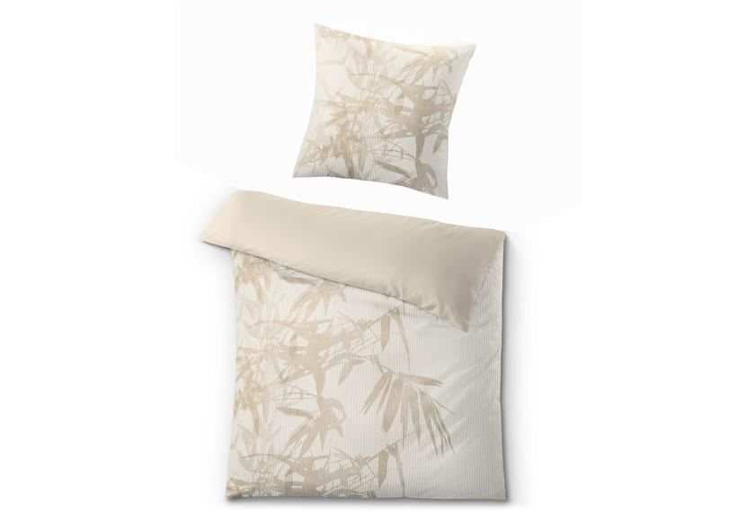 kleine wolke bettw sche novero sandbeige wohnaccessoires bei tepgo kaufen versandkostenfrei. Black Bedroom Furniture Sets. Home Design Ideas