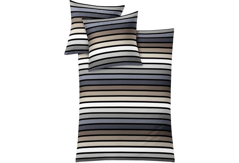 kleine wolke bettw sche rimini taupe wohnaccessoires bei tepgo kaufen versandkostenfrei. Black Bedroom Furniture Sets. Home Design Ideas