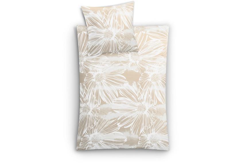 kleine wolke bettw sche rosalie sandbeige wohnaccessoires bei tepgo kaufen versandkostenfrei. Black Bedroom Furniture Sets. Home Design Ideas
