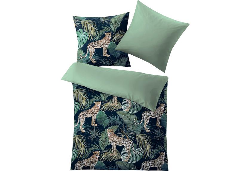 Kleine Wolke Bettwäsche Safari Green