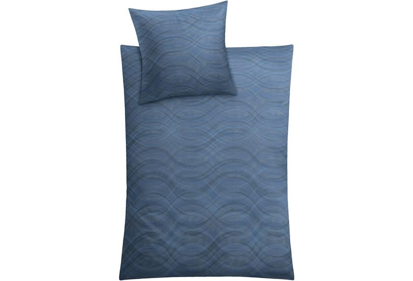 Kleine Wolke Bettwäsche Shiraz Blau