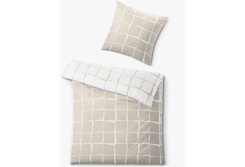 kleine wolke bettw sche tom sandbeige wohnaccessoires bei tepgo kaufen versandkostenfrei. Black Bedroom Furniture Sets. Home Design Ideas