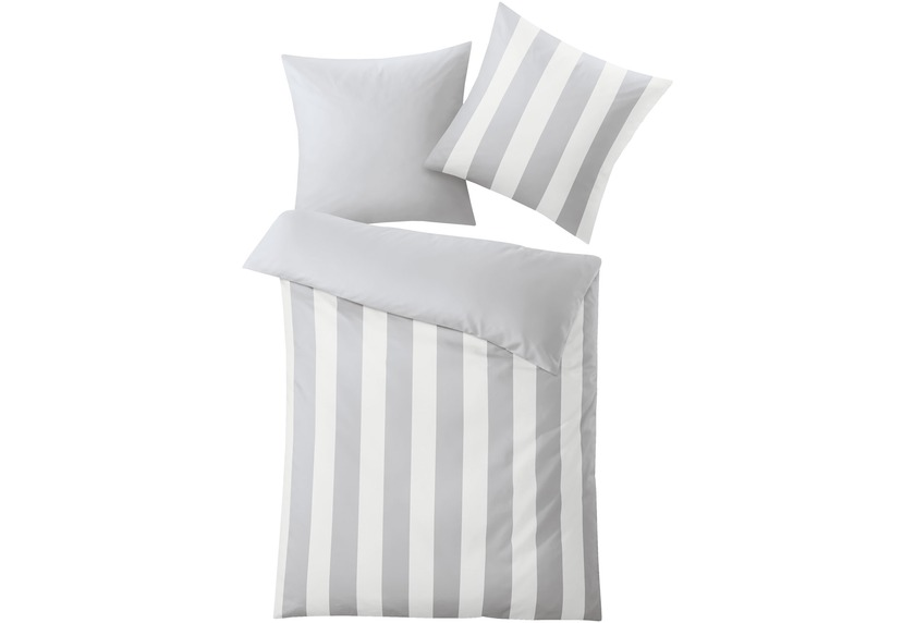 kleine wolke bettw sche trentino platin wohnaccessoires bei tepgo kaufen versandkostenfrei. Black Bedroom Furniture Sets. Home Design Ideas