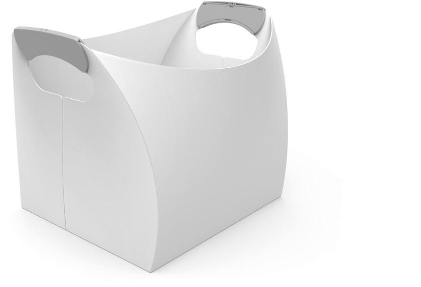 Kleine Wolke Box Origami Box Weiss M Box
