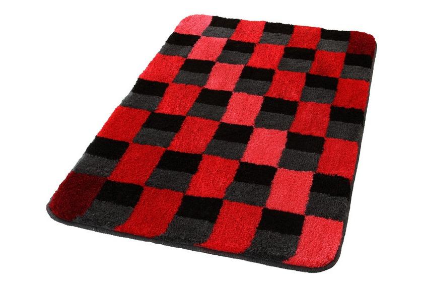 kleine wolke badteppich carrara weinrot 55 cm x 55 cm wc vorleger mit ausschnitt ebay. Black Bedroom Furniture Sets. Home Design Ideas