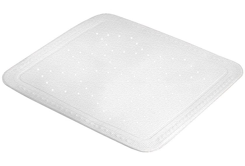 Kleine Wolke Duscheinlage Arosa, Weiß 55 x 55 cm