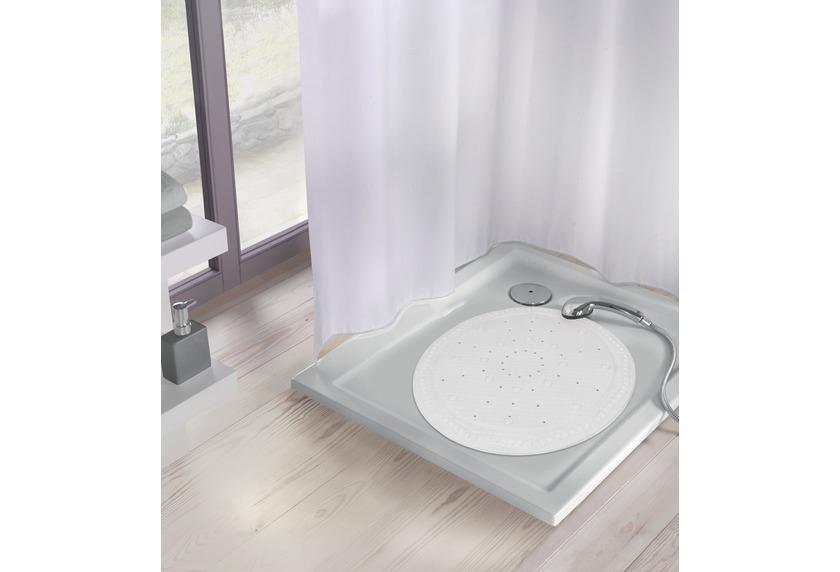 Kleine Wolke Duscheinlage Arosa, Weiß