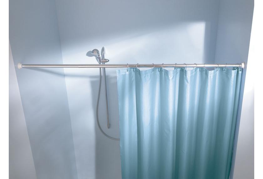 Kleine Wolke Federstange Weiss, 130-250 cm