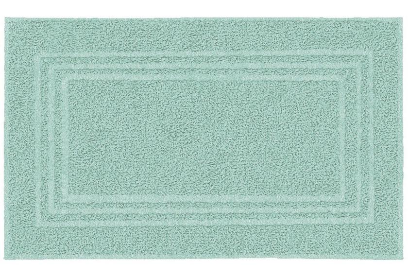 Kleine Wolke Frottier-Badvorleger Lodge Salbeigrün 50 x 80 cm