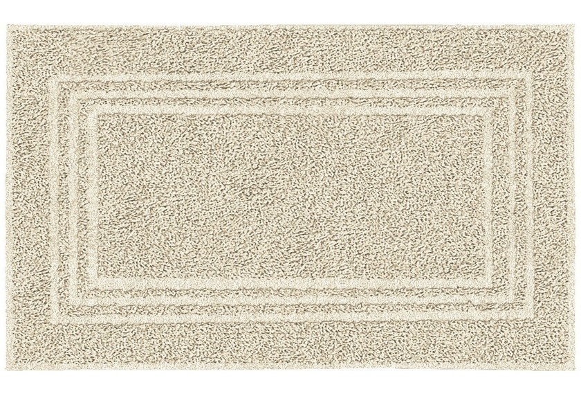 Kleine Wolke Frottier-Badvorleger Lodge Sandbeige 50 x 80 cm