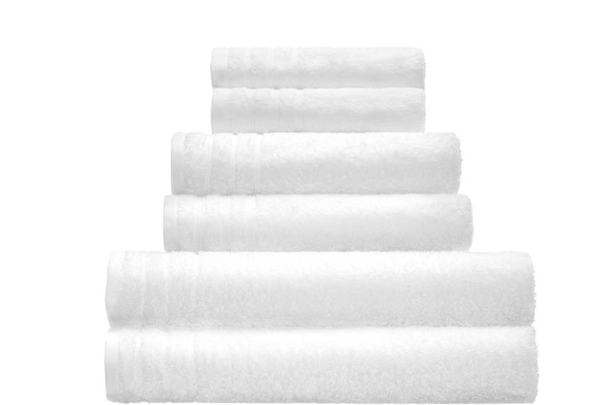 Kleine Wolke Handtuch/Duschtuch Royal, Schneeweiß