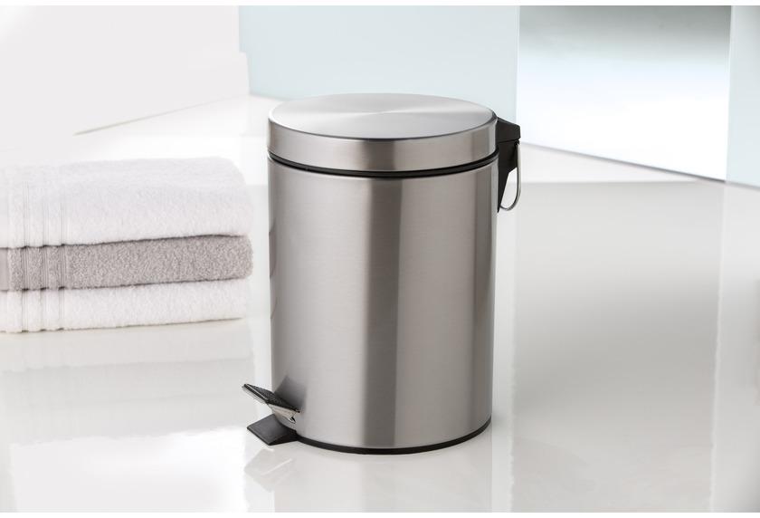 kleine wolke kosmetikeimer big jump chromfarbig 5 liter badaccessoires kosmetikabfalleimer bei. Black Bedroom Furniture Sets. Home Design Ideas