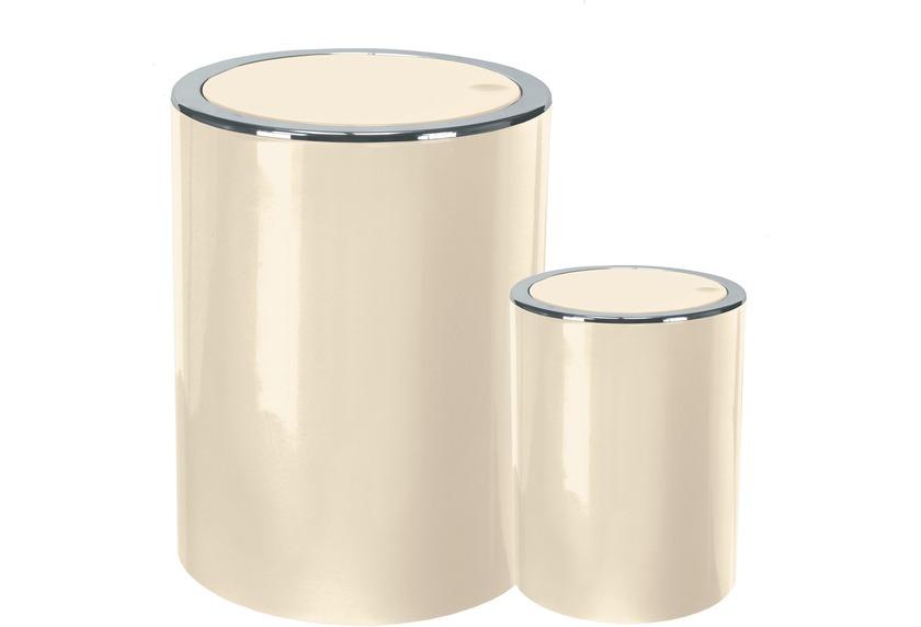 Kleine Wolke Kosmetikeimer Clap Set 2-teilig Natur 5 & 1,5 Liter