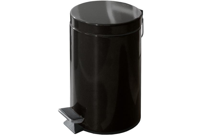 kleine wolke kosmetikeimer jump schwarz 3 liter badaccessoires kosmetikabfalleimer bei tepgo. Black Bedroom Furniture Sets. Home Design Ideas