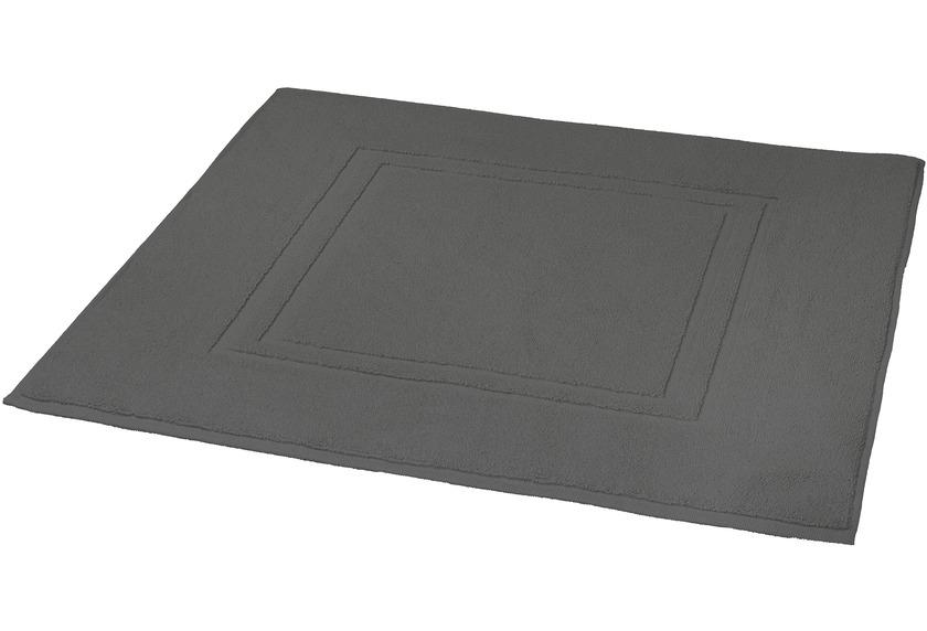 kleine wolke badteppich plaza dunkelgrau ebay. Black Bedroom Furniture Sets. Home Design Ideas