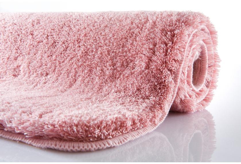 Kleine Wolke Badteppich Relax Pastellrose rutschhemmender Rücken Öko-Tex zertifiziert