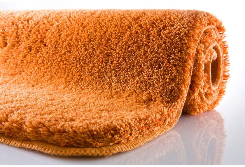 Kleine Wolke Badteppich Relax Rost