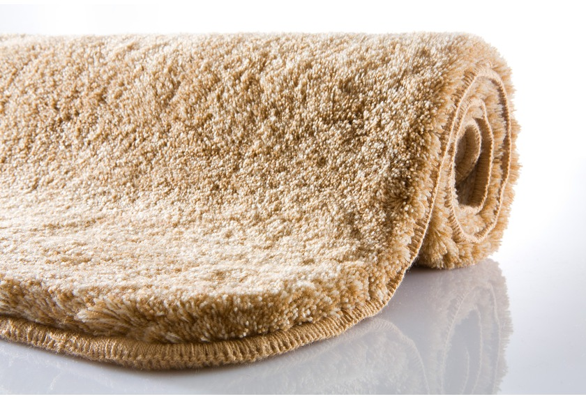 Kleine Wolke Badteppich, Relax, Walnuss, rutschhemmender Rücken, Öko-Tex zertifiziert