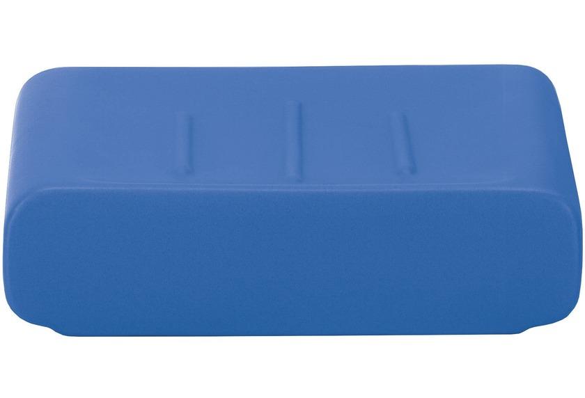 Kleine Wolke Seifenschale Cubic, Königsblau 11,1x2,9