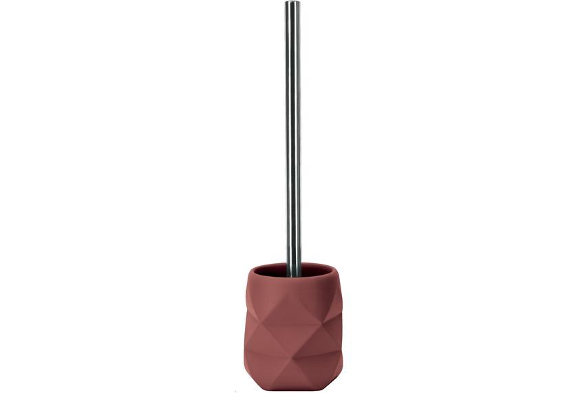 Kleine Wolke WC-Bürstenhalter Crackle Rosenholz 10,6x39x10,6