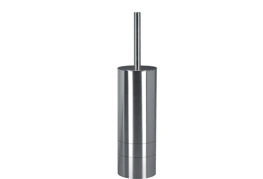 Kleine Wolke WC-Bürstenhalter Gloria silber 8,9x38,2x8,9