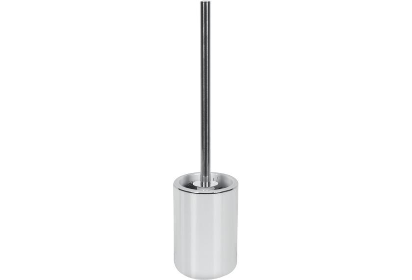 Kleine Wolke WC-Bürstenhalter Noblesse, Weiss/Silber 43 x 10 cm