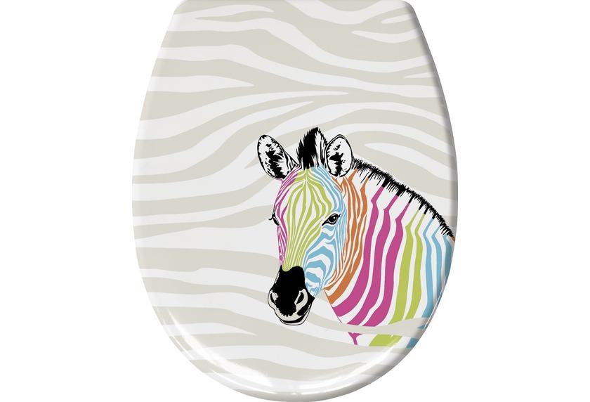 kleine wolke wc sitz zebra multicolor 37x 45 cm badaccessoires bei tepgo kaufen versandkostenfrei. Black Bedroom Furniture Sets. Home Design Ideas