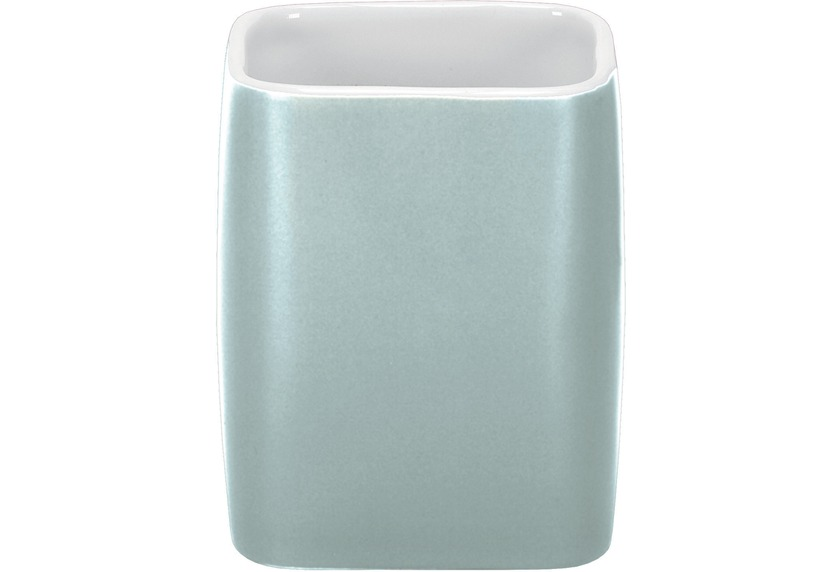Kleine Wolke Zahnputzbecher Cubic, Opal 7,4x9,1x7,4/300ml
