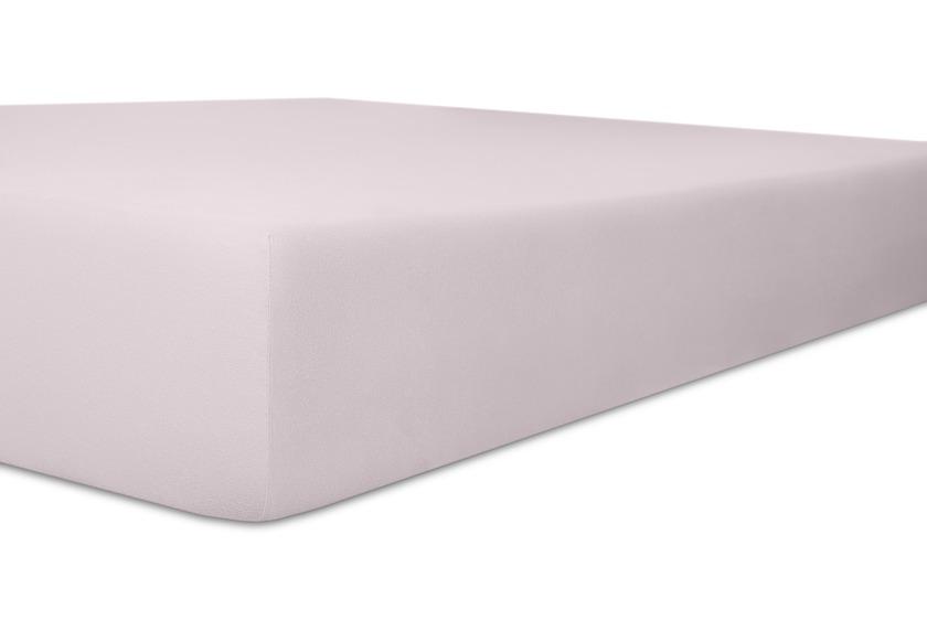 """Kneer Spannbetttuch Exclusive-Stretch \""""Qualität 93\"""" Farbe 30 lavendel"""