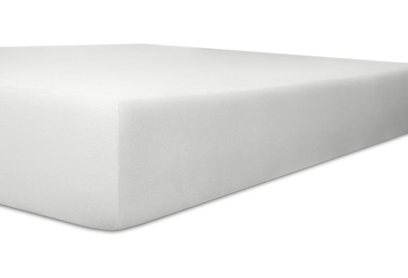Kneer Spannbetttuch Superior-Stretch 2in1 Farbe 01 weiss