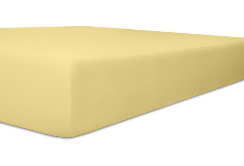 Kneer Spannbetttuch Superior-Stretch 2in1 Farbe 12 creme