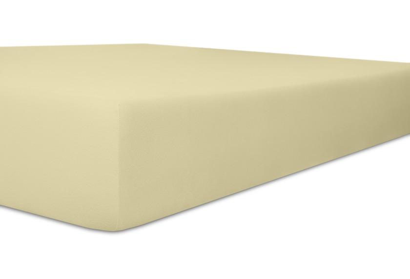 Kneer Spannbetttuch Superior-Stretch 2in1 Farbe 15 natur