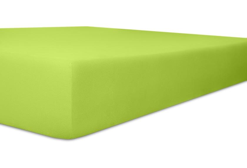 Kneer Spannbetttuch Superior-Stretch 2in1 Farbe 54 limone