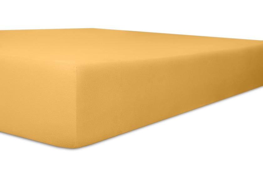 Kneer Spannbetttuch Superior-Stretch 2in1 Farbe 74 sand