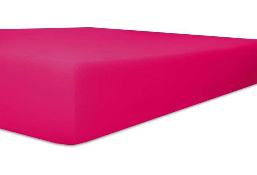 """Kneer Vario-Stretch \""""Qualität 22\"""", Spannbetttuch für Caravan, Boote und Wohnmobile Farbe 52 fuchsia"""