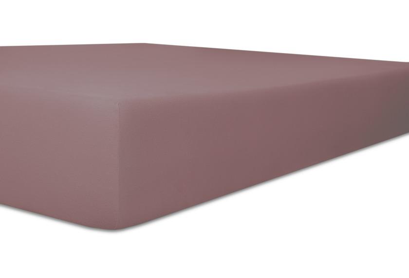 """Kneer Vario-Stretch \""""Qualität 22\"""", Spannbetttuch für Caravan, Boote und Wohnmobile Farbe 62 flieder"""